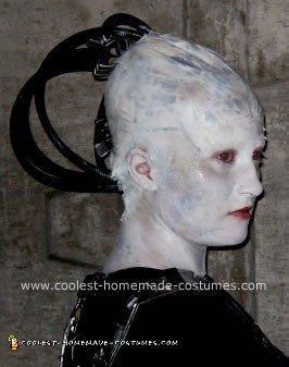 Homemade Borg Queen from Star Trek Costume