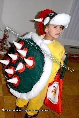Homemade Bowser Costume