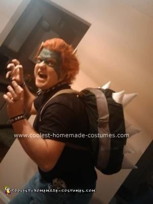Homemade Bowser from Super Mario Bros Costume