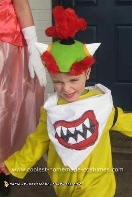 Homemade Bowser Jr. Costume