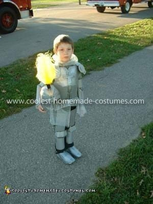 Coolest Homemade Boy's Knight Costume