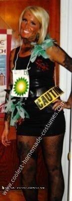 Homemade BP Oil Spill Costume