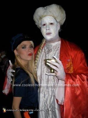 Homemade Bram Stoker's Dracula Costume