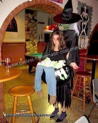 Homemade Brewing Witch's Caulderon Costume