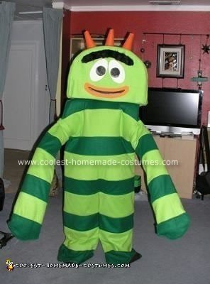 Homemade Broby from Yo Gabba Gabba Costume