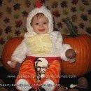 Homemade Bucket of Kentucky Fried Chicken Baby Costume