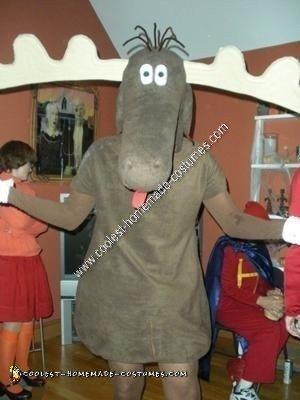 Homemade Bullwinkle Halloween Costume Idea