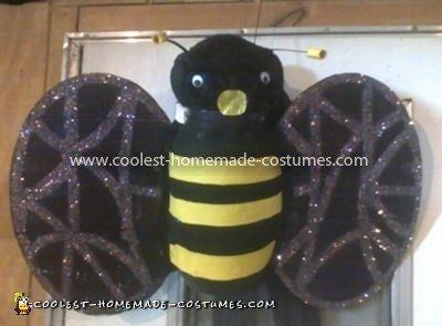 Coolest Homemade Bumblebee Costume 9