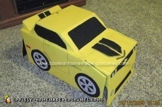 Bumblebee Transformer Halloween Costume