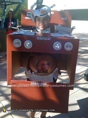 Homemade Bun in the Oven Costume