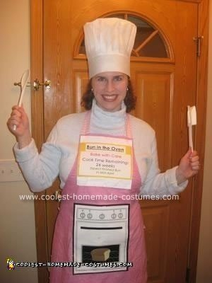 Homemade Bun in the Oven Halloween Costume
