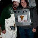 Homemade Bun in the Oven Pregnant Couple Costume