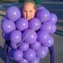 Homemade Bunch of Grapes Halloween Costume