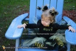 Homemade Busy Bee Halloween Costume