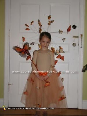 Homemade Butterfly Ballerina Costume