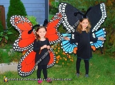 Homemade Butterfly Costume Designs