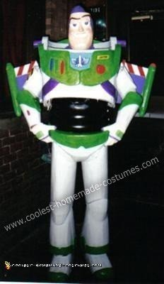 Homemade Buzz Lightyear and Emperor Zurg Costumes