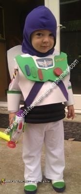 Homemade Buzz Lightyear Child Costume