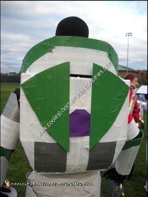 Homemade Buzz Lightyear Costume
