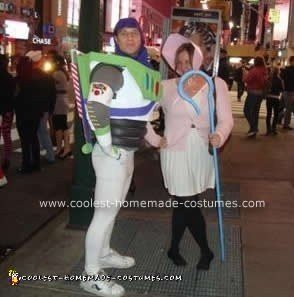 Homemade Buzz Lightyear Halloween Costume