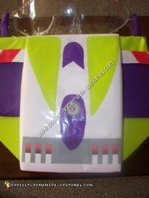 Homemade Buzz Lightyear Toddler Costume