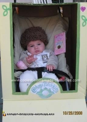 Homemade Cabbage Patch Costume