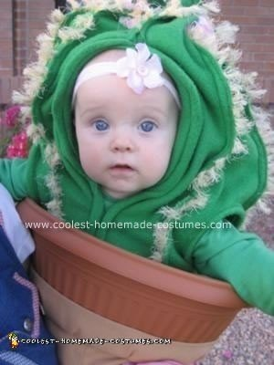 Homemade Cactus Costume - Baby Costume Ideas