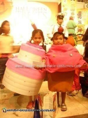 Homemade Cake and Cupcake Halloween Costumes