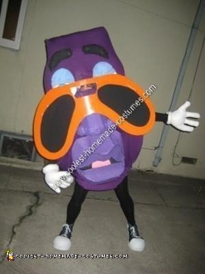 Homemade California Raisins Group Halloween Costumes