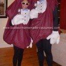 Homemade California Raisins Halloween Costumes