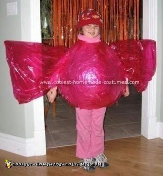 Homemade Candy Costume