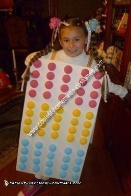 Homemade Candy Dots Costume