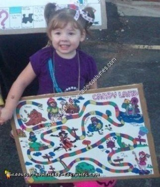 Homemade Candy Land Costume