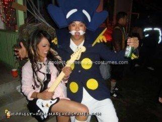 Homemade Capn Crunch Costume