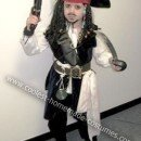 Homemade Captain Jack Sparrow Halloween Costume