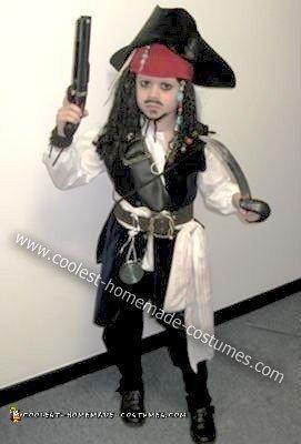 Coolest Homemade Captain Jack Sparrow Halloween Costume