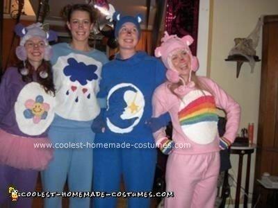 Homemade Carebear Costumes