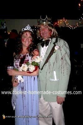 Homemade Carrie Prom Queen Nightmare Costume