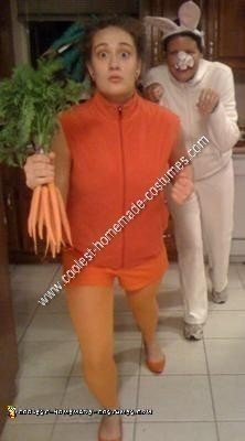 Homemade Carrot Halloween Costume Idea