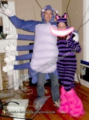 Homemade Caterpillar and Cheshire Cat Costumes
