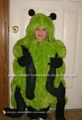 Homemade Caterpillar Halloween Costume