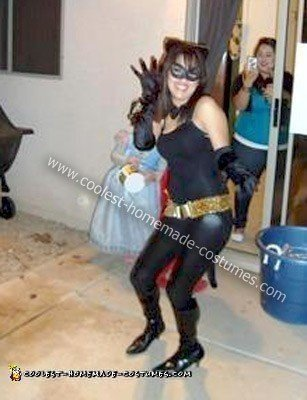 Batman And Catwoman Halloween Costumes.Coolest Homemade Catwoman Halloween Costume