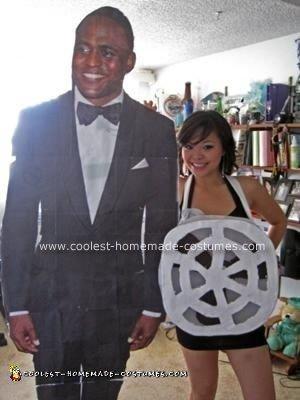 Homemade Celebrity Fan Costume