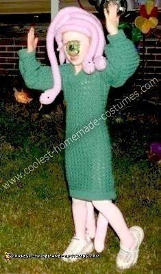 Homemade Celia from Monster's Inc. Costume