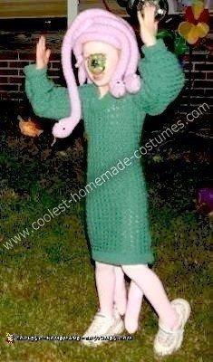 Homemade Celia from Monster's Inc. Costume