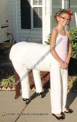 Homemade Centaur Girl Costume