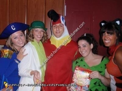 Homemade Cereal Mascots Group Costume
