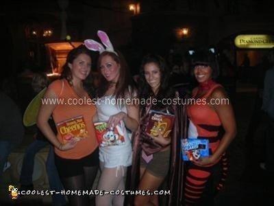 Buzz Bee, Trix Rabbit, Count Chocula, Tony the Tiger