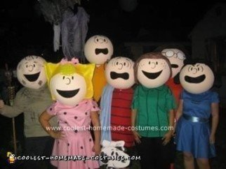Peanuts Cartoon Costumes