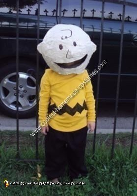 Homemade Charlie Brown Halloween Costume Idea